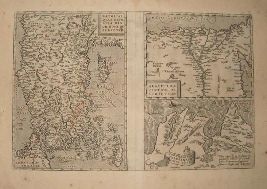 Ortelius - Natoliae ... Asia Minor