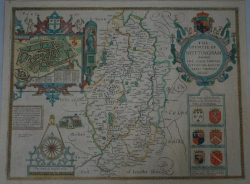 SOLD The Countie of Nottingham described