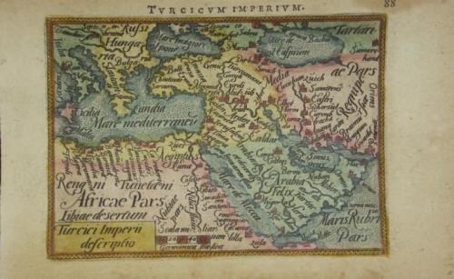 Ortelius / Galle - Turcicum Imperium
