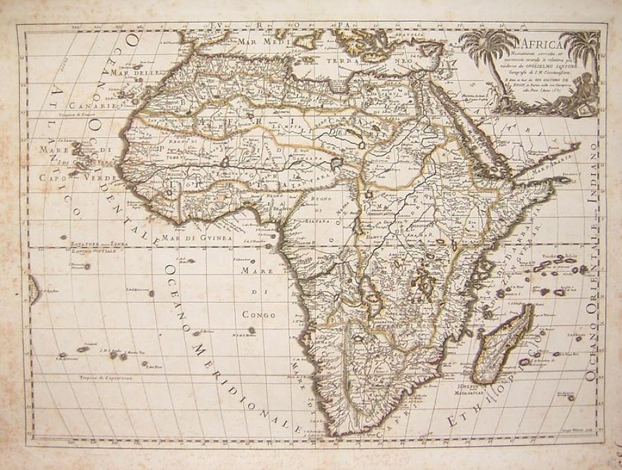 Sanson / Rossi - L'Africa