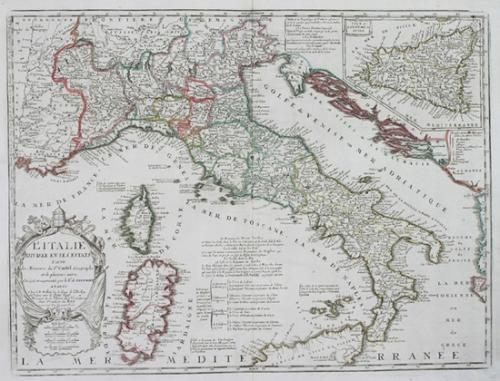 Coronelli / Nolin - Italie en ses Estats