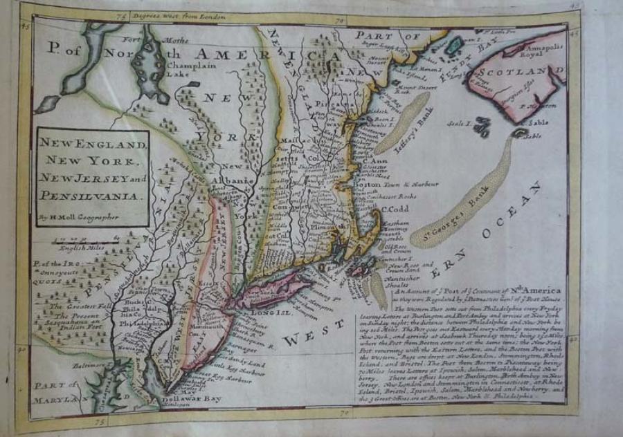 Moll - New England, New York, New Jersey