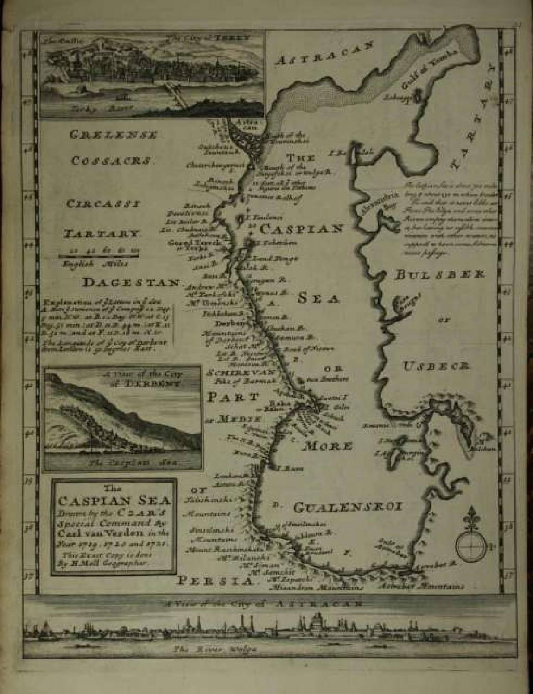Moll - The Caspian Sea