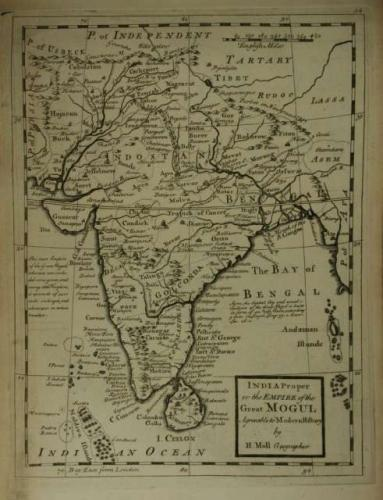 SOLD India Proper or the Empire of the Great Mogul