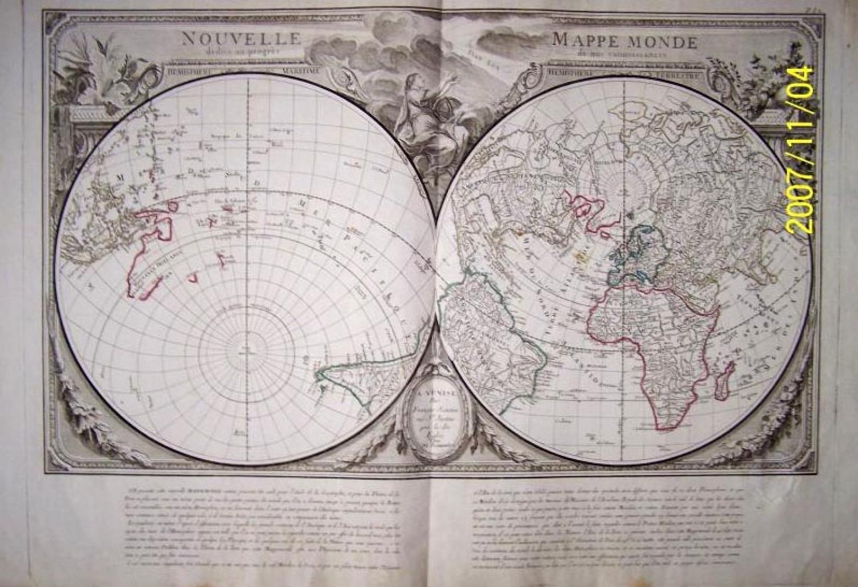 Santini - Nouvelle Mappe Monde