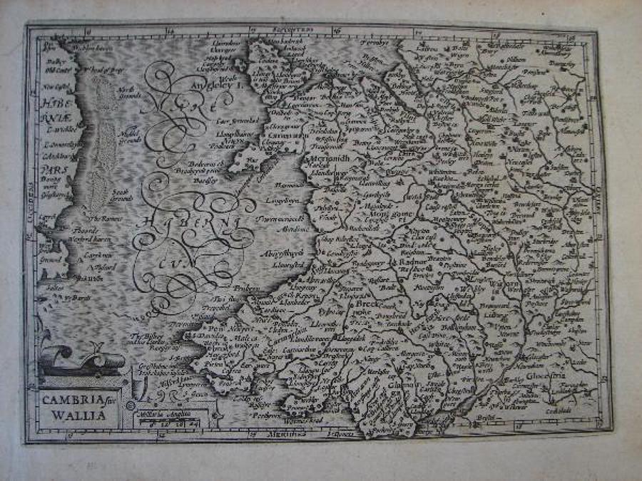 Mercator - Cambria sive Wallia