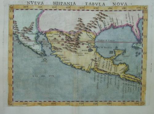 SOLD Neuva Hispania Tabula Nova