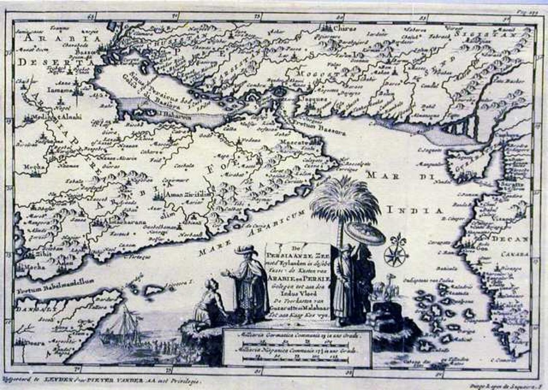 SOLD De persian anze zee met d'eylanden / Diego Lopez