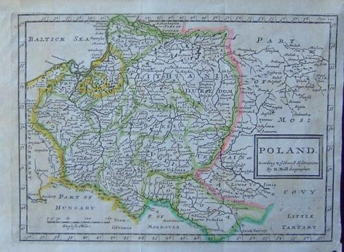 Moll -Poland according to newest observations