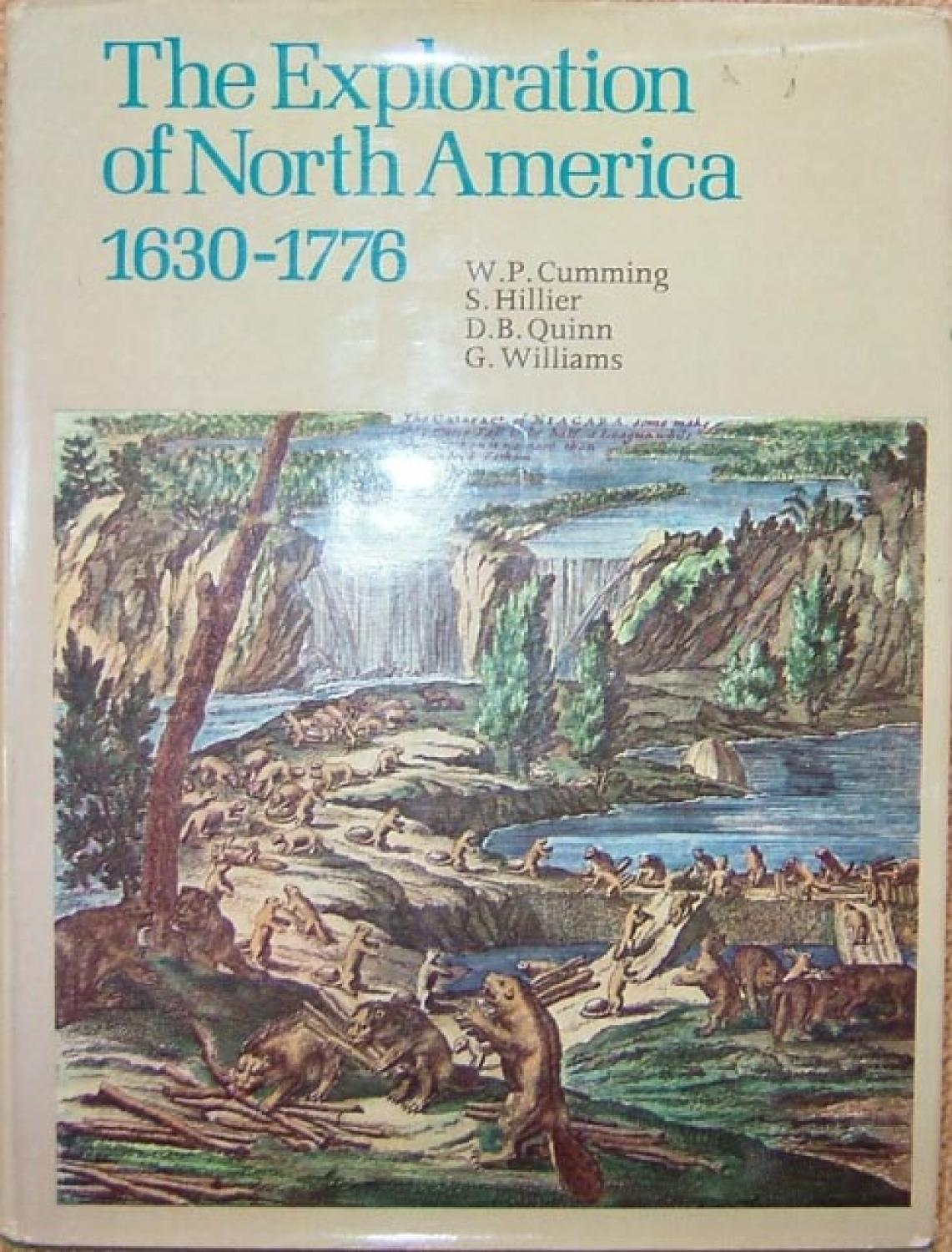 The Exploration of North America 1630-1776