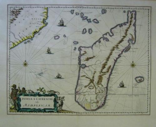 SOLD Insula S. Laurentii, vulgo Madagascar
