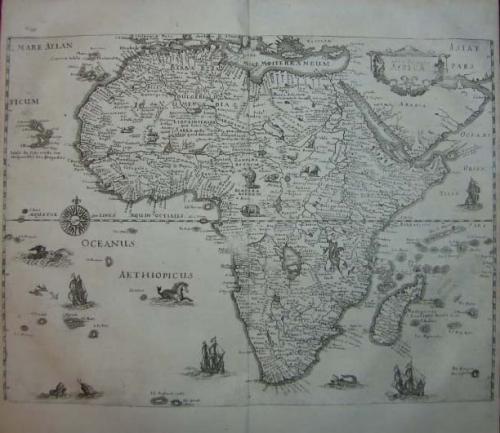 SOLD Nova Descriptio Africae