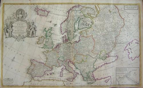 Moll - This map of Europe ...