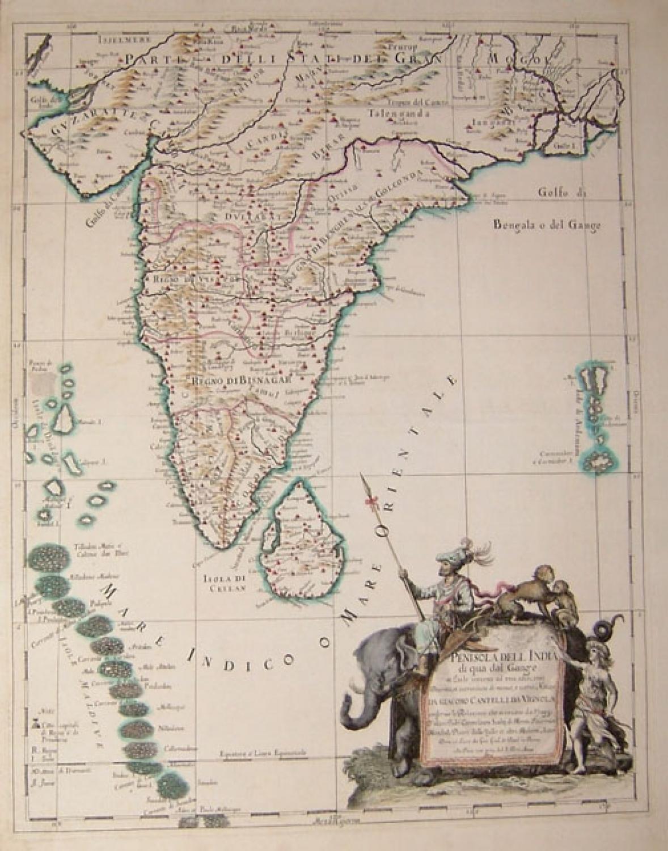 Rossi - Penisola dell'India