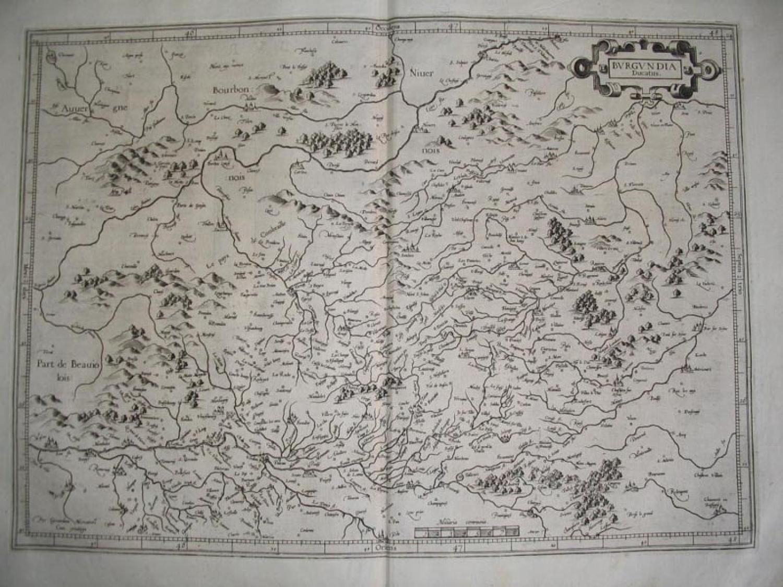 Mercator - Burgundia Ducatus