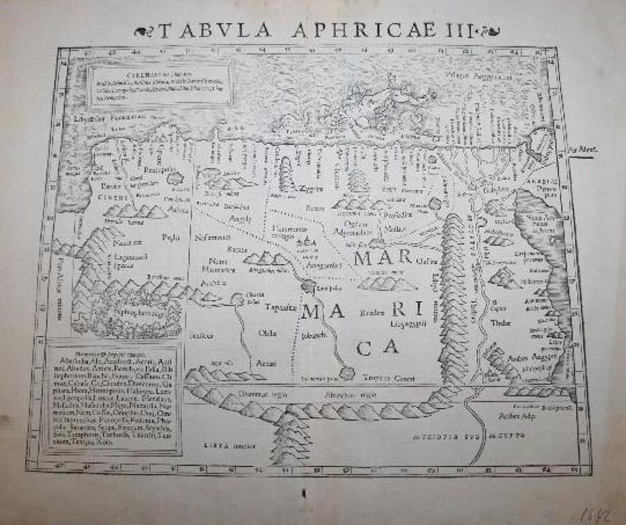 Fries / Waldseemuller -  -Tabula Aphricae III