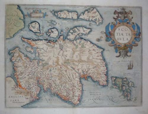 Ortelius - Scotiae Tabula