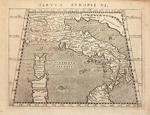 Magini - Tabula Europae VI