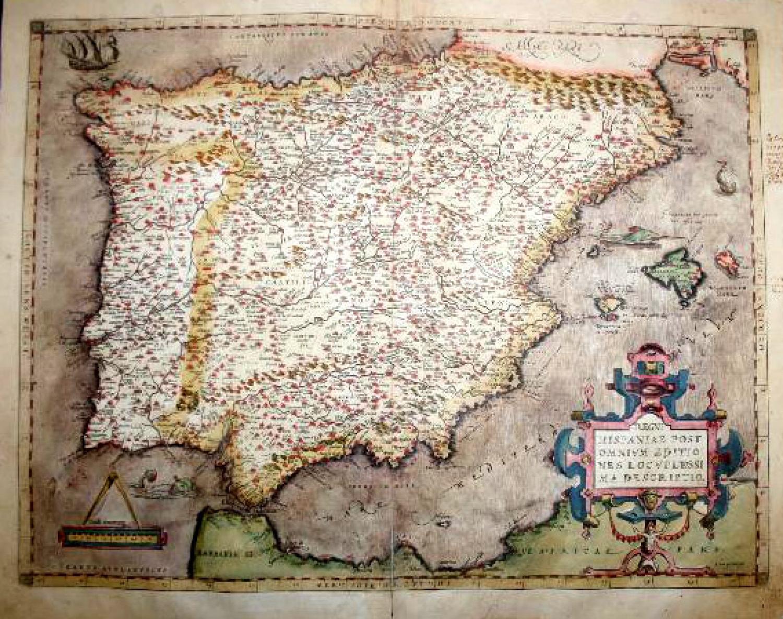 SOLD Regni Hispaniae... descriptio