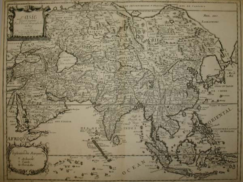L'Asie Reueue Et Augmentee Par P. Duval Geographe ord du Roy
