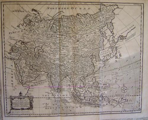 Bowen - A New & Exact Map of Asia
