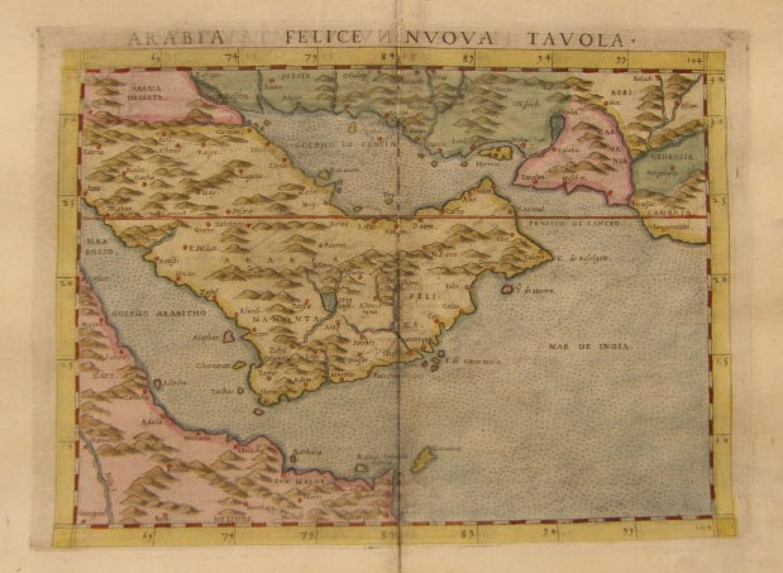 SOLD Arabia Felice Nuova Tavola