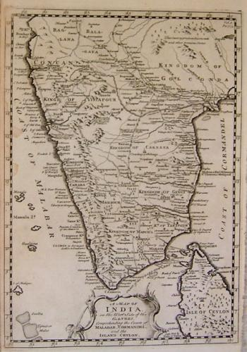 Bowen - A Map Of India..