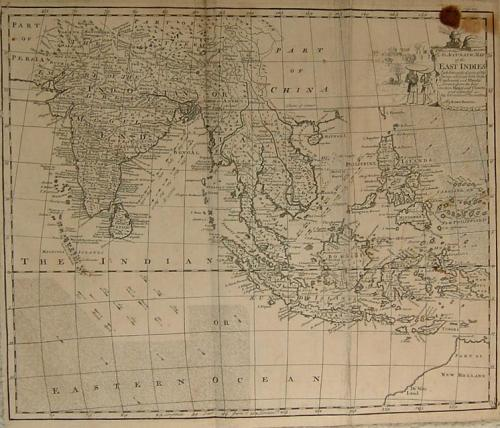 Bowen - An Accurate Map of the East Indies
