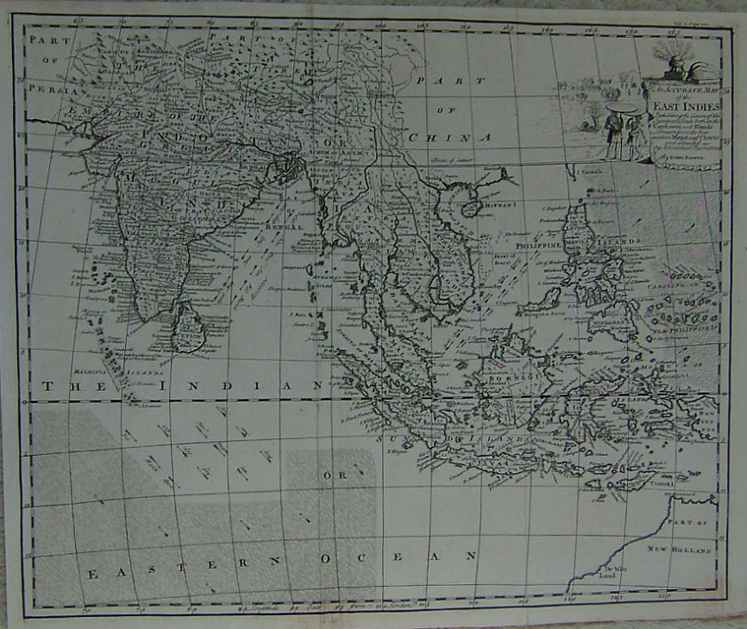 SOLD An Accurate Map of the East Indies