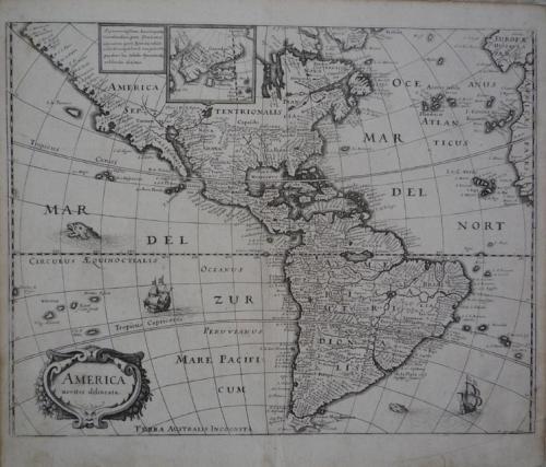 Merian - America Noviter Delineata