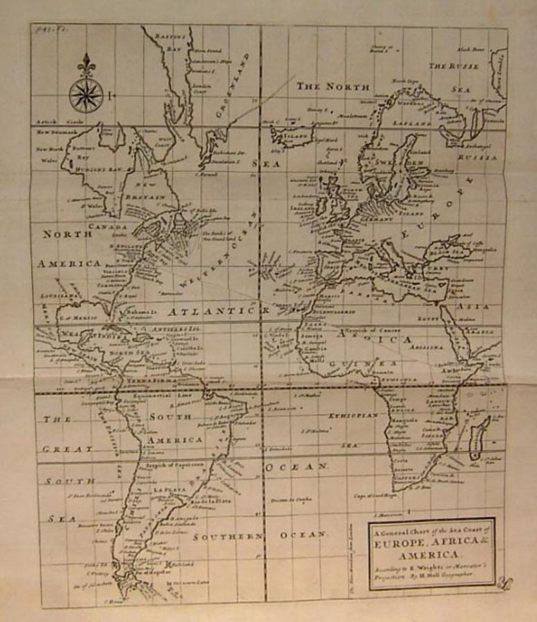 Moll Sea Coasts of Europe, Africa and America