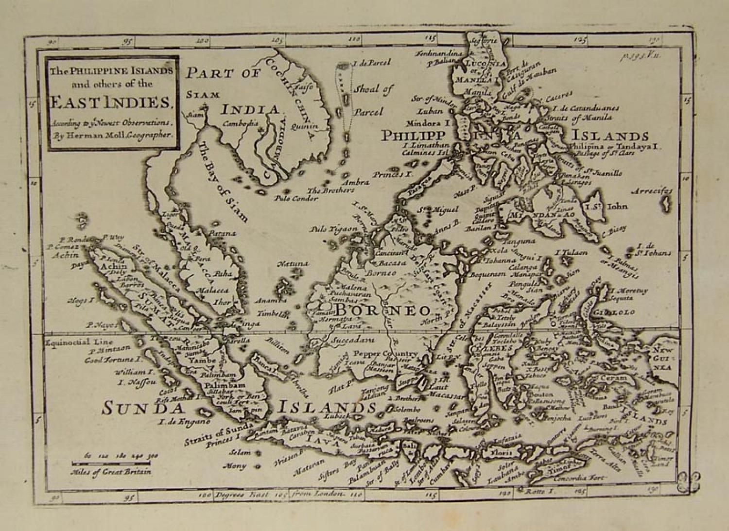 Moll - The Philippine Islands ...East Indies