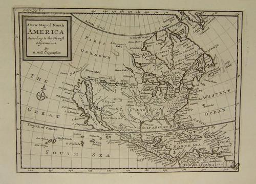 Moll - A New Map of North America