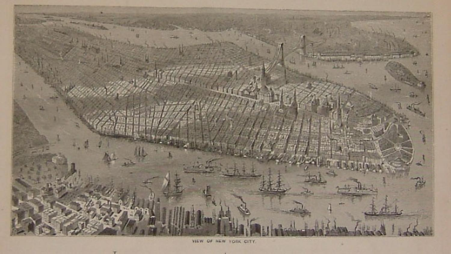 Stinton - View of New York City