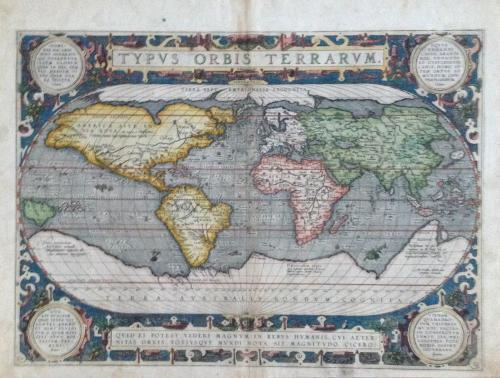 Ortelius - Typus Orbis Terrarum