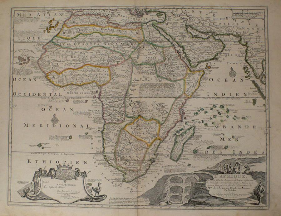 De fer - L'Afrique
