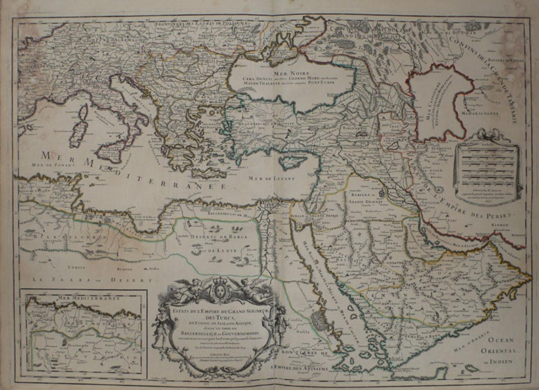 Jaillot - Estats de L'Empire .. des Turcs