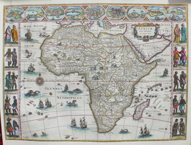 SOLD Africae Nova Descriptio