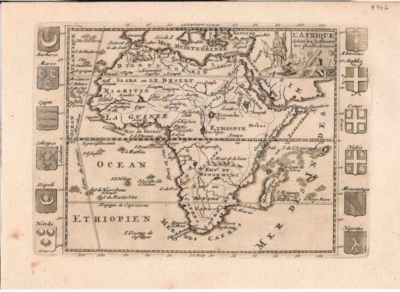 SOLD L'Afrique selon les Autheurs les plus modernes