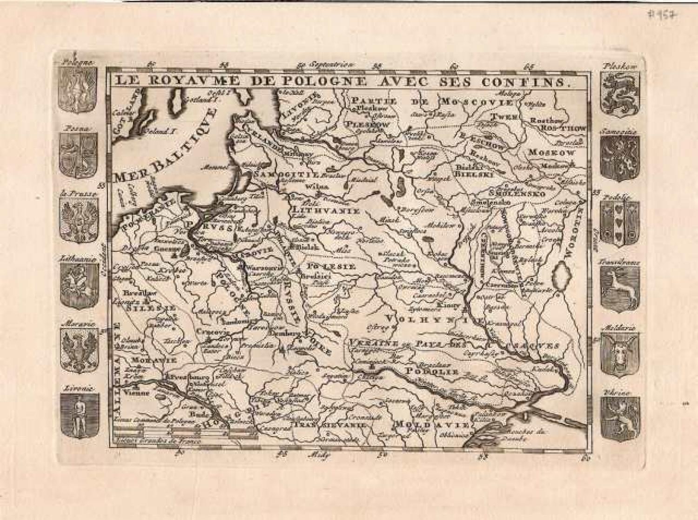 SOLD Le Royaume de Pologne avec ses confins