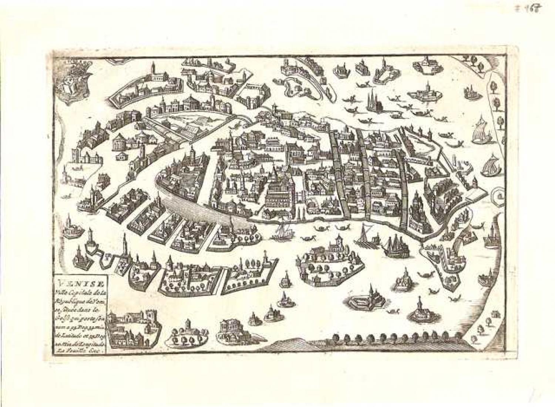 SOLD Venise, Ville Capitale de la Republique de Venise