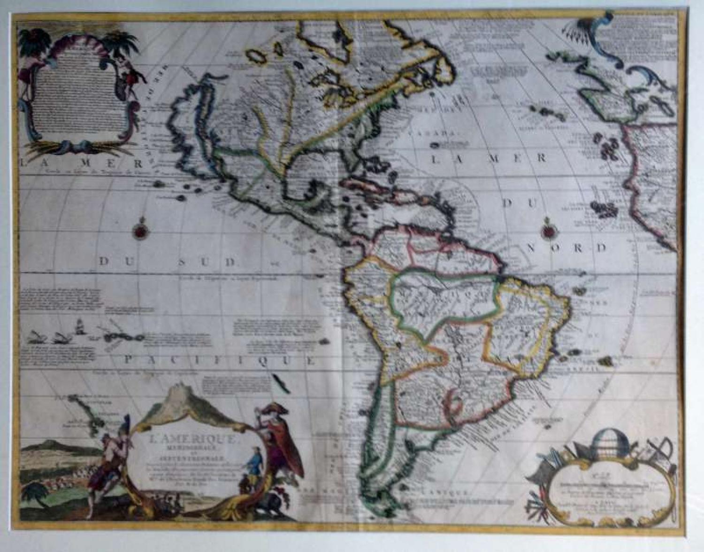 De Fer -L'Amerique Meridionale Septentrionale