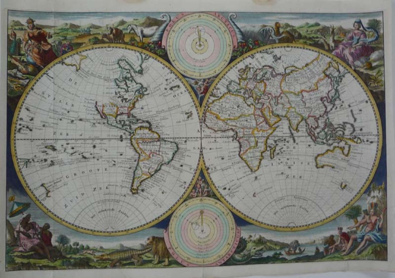van Jagen - World map