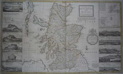 Moll north part Great Britain called Scotland