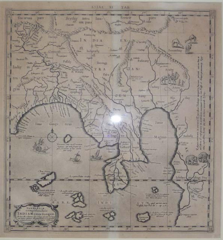 Mercator - Tab XI Asiae..Indiam..