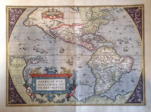 Ortelius - Americae Sive Novi Orbis