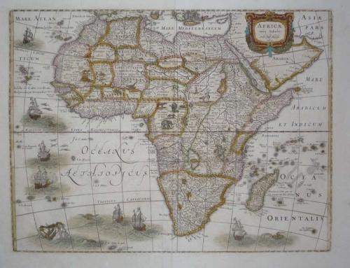 SOLD Africae Nova Tabula