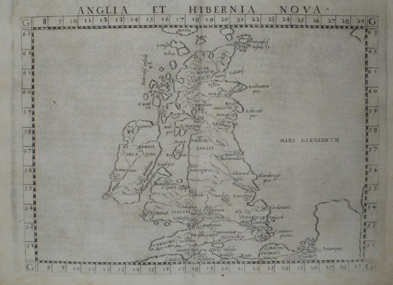 Ruscelli - Anglia et Hibernia Nova