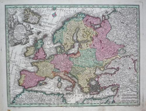 Seutter - Europa