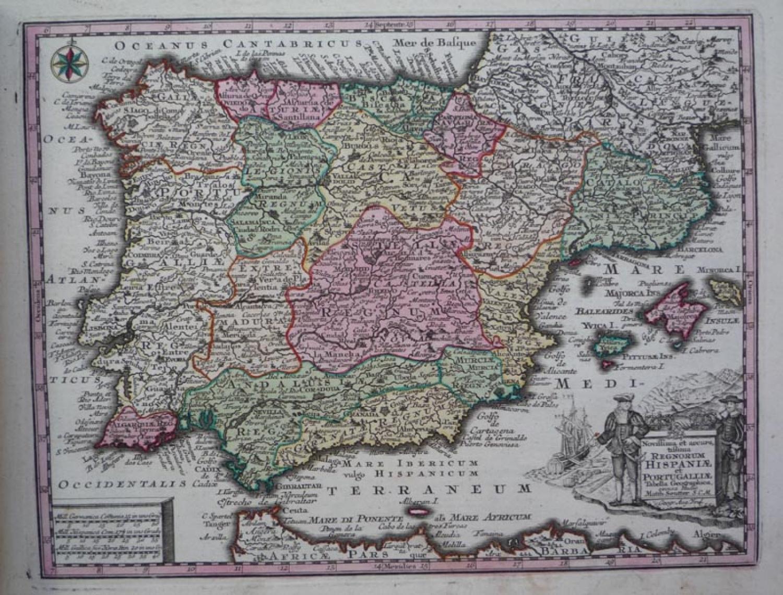 Seutter - Hispaniae